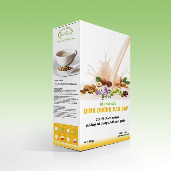 Bột ngũ cốc dinh dưỡng cao cấp DeliBeans (Hộp 800g) 1 - Deli Beans