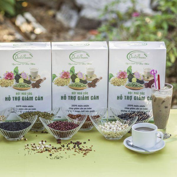 Bột ngũ cốc hỗ trợ giảm cân DeliBeans (Hộp 800g) 4 - Deli Beans
