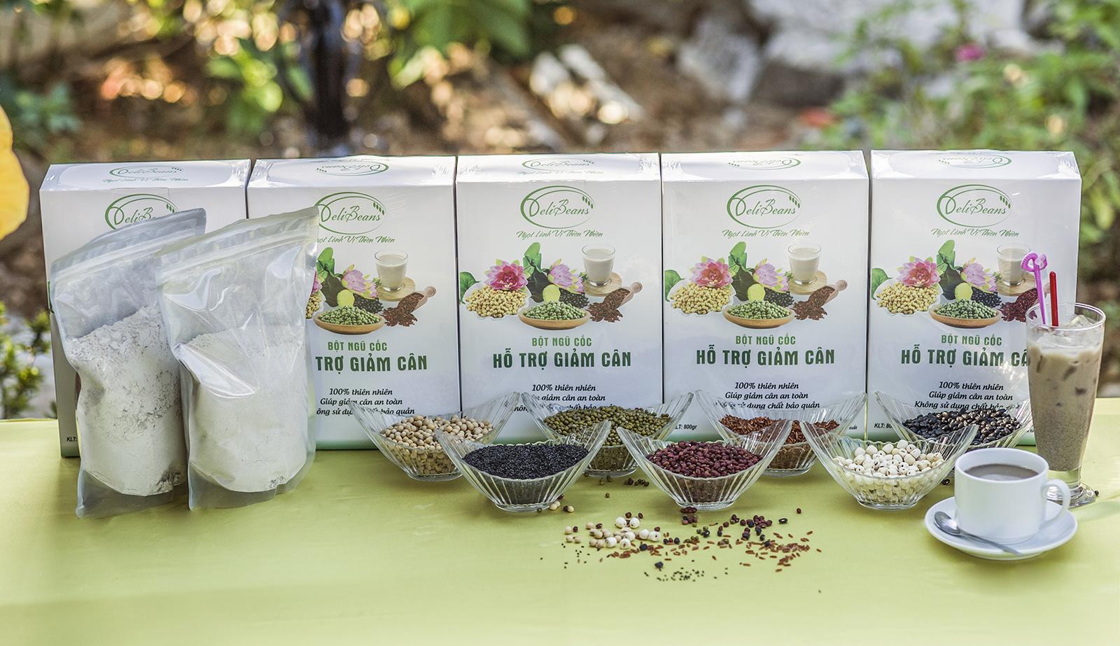 Bột ngũ cốc hỗ trợ giảm cân DeliBeans (Hộp 800g) 12 - Deli Beans