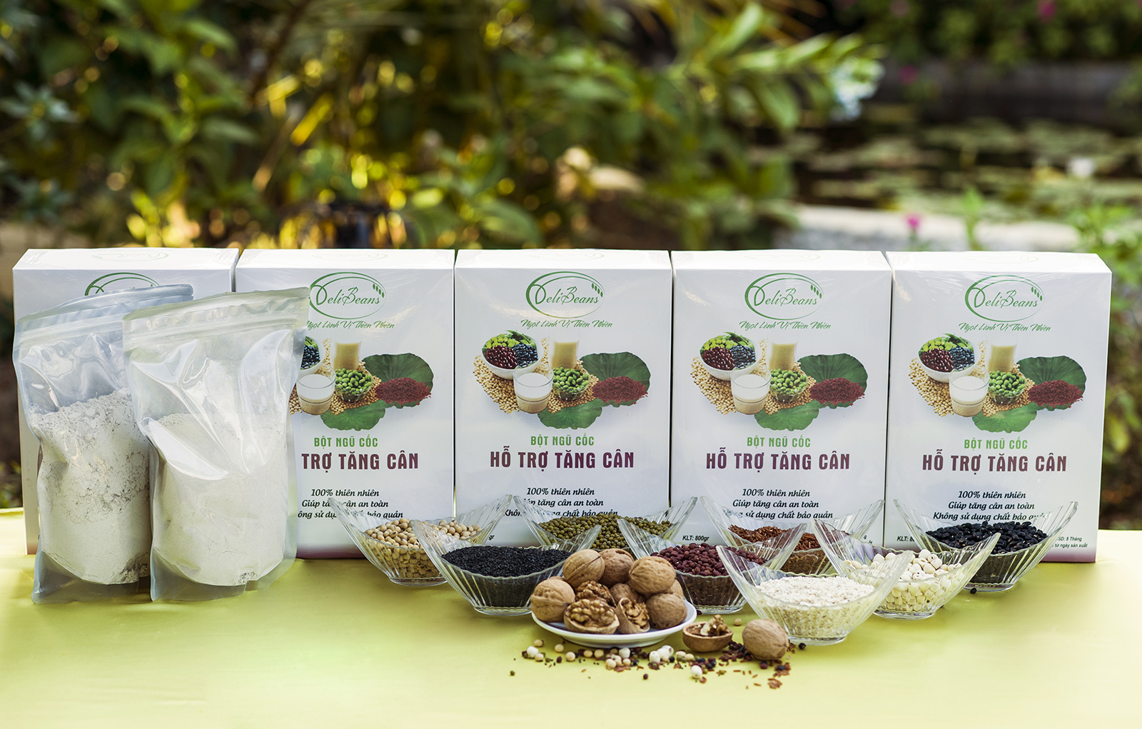 Bột ngũ cốc hỗ trợ tăng cân DeliBeans (Hộp 800g) 12 - Deli Beans