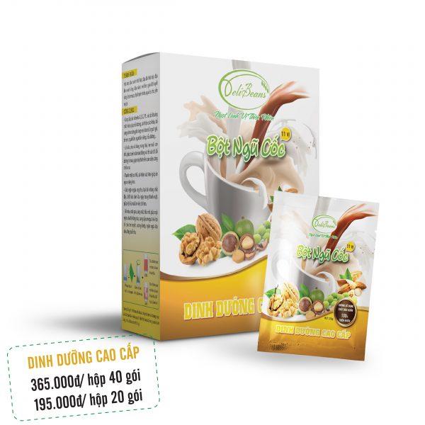 Bột ngũ cốc dinh dưỡng cao cấp DeliBeans (Hộp 20 gói) 1 - Deli Beans