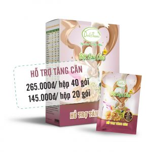 Bột ngũ cốc hỗ trợ tăng cân DeliBeans (Hộp 40 gói) 4 - Deli Beans