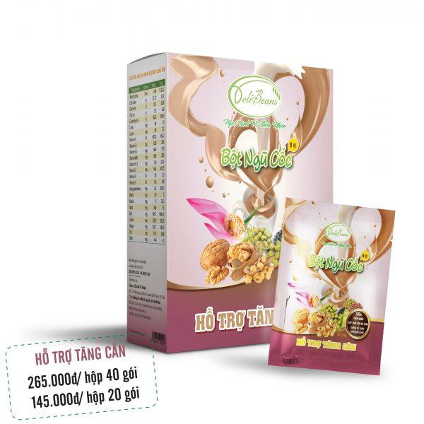 Bột ngũ cốc hỗ trợ tăng cân DeliBeans (Hộp 40 gói) 1 - Deli Beans