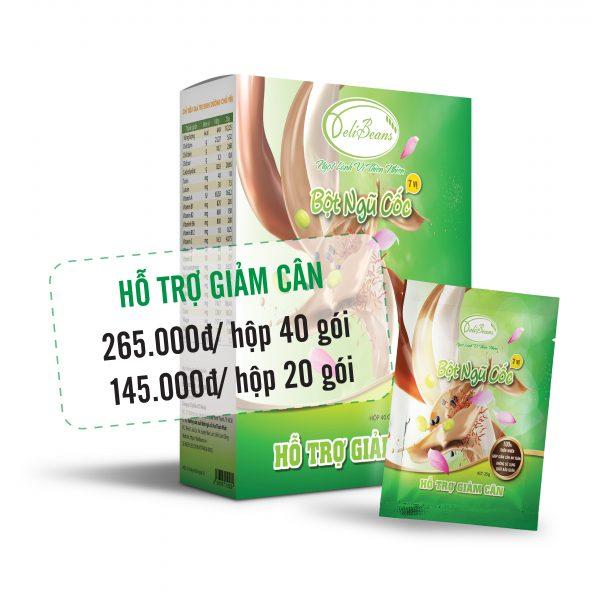 Bột ngũ cốc hỗ trợ giảm cân DeliBeans (Hộp 20 gói) 3 - Deli Beans