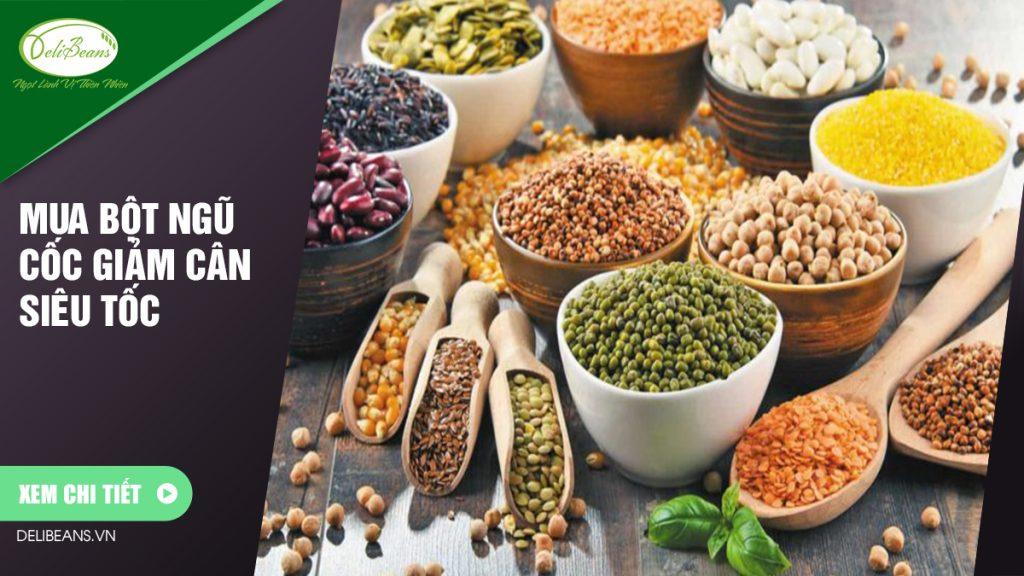 Mua bột ngũ cốc giảm cân siêu tốc