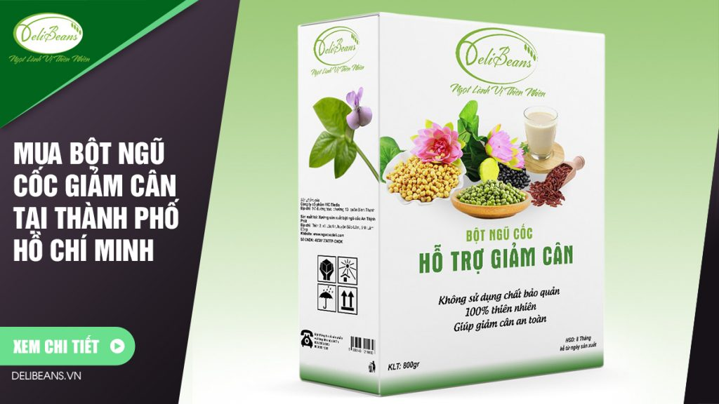 Mua bột ngũ cốc giảm cân tại Thành phố Hồ Chí Minh