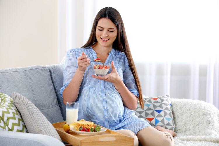 Chế độ ăn cho bà bầu tại sao nên thêm bột ngũ cốc vào ? 1 - Deli Beans