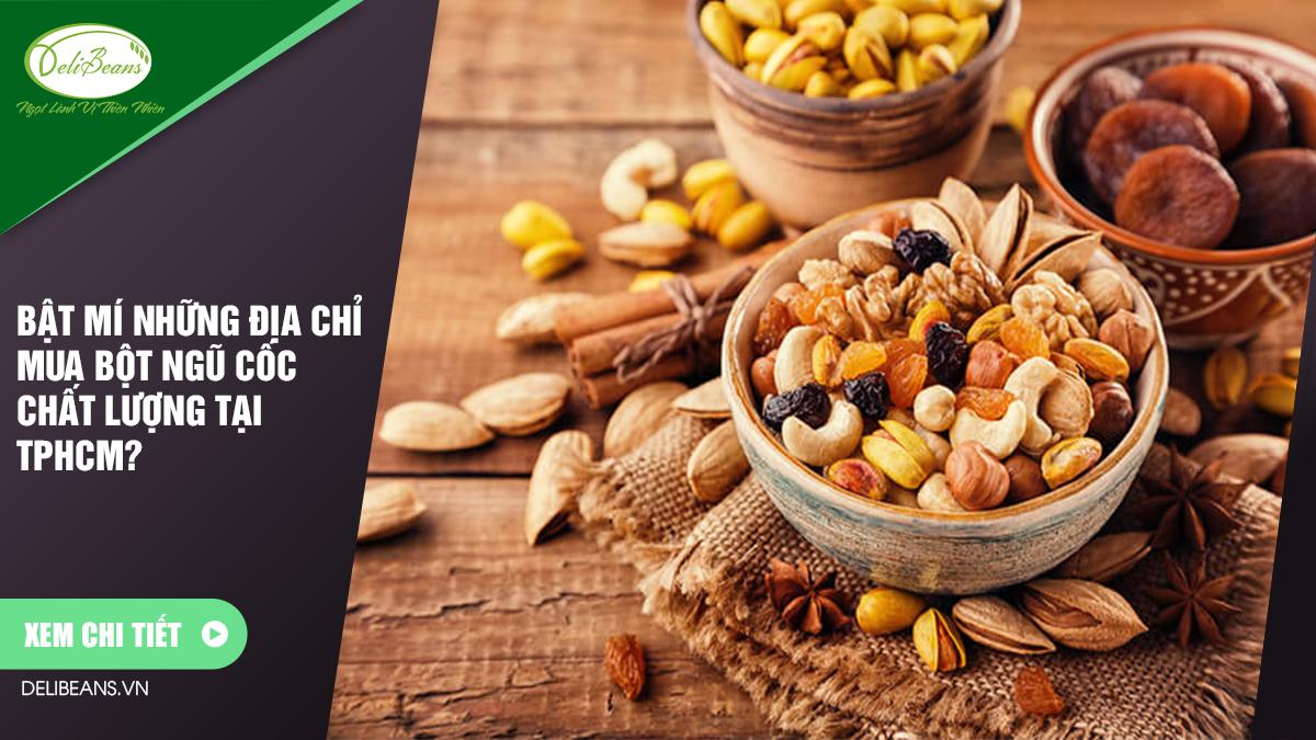 Tại sao uống ngũ cốc lại giảm cân hiệu quả trong thời gian ngắn? 1 - Deli Beans